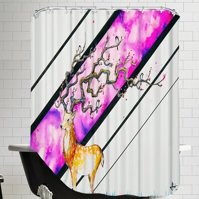 Alastor (c) Marc Allante Shower Curtain