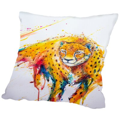 Atalanta Throw Pillow Size: 18 H x 18 W x 2 D