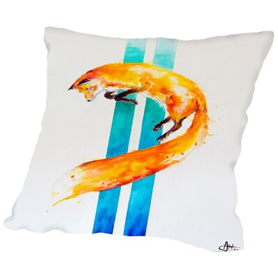 As above, so below Throw Pillow Size: 18 H x 18 W x 2 D