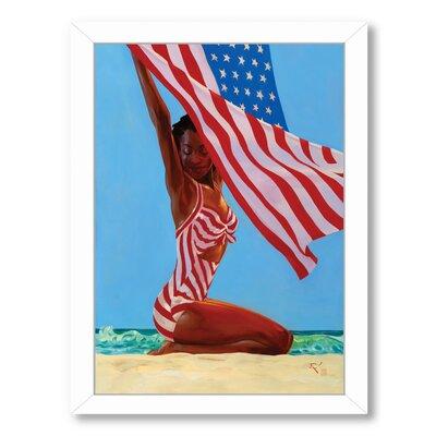 'America The Beautiful' Framed Painting Print EASU5046 34098488