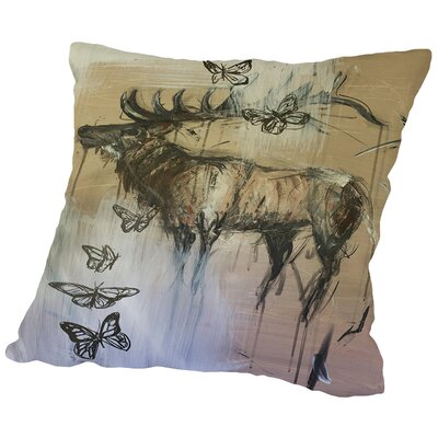 Awaken Throw Pillow Size: 18 H x 18 W x 2 D