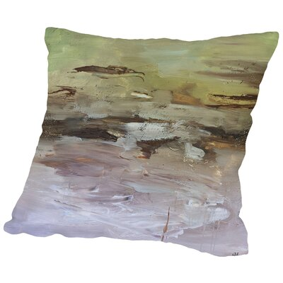 Awareness Throw Pillow Size: 18 H x 18 W x 2 D