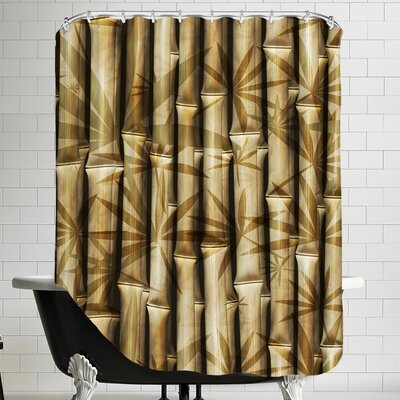 Bamboo Nature Shower Curtain