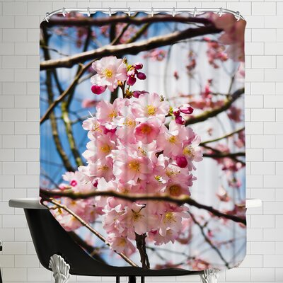 Asia Cherry Blossom Shower Curtain