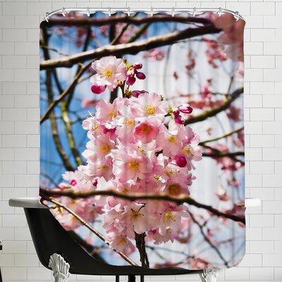 Asia Cherry Blossom Shower Curtain