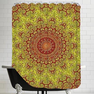 Asia Mandala Buddha Style Shower Curtain