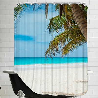 Beach Holiday Travel Style Shower Curtain