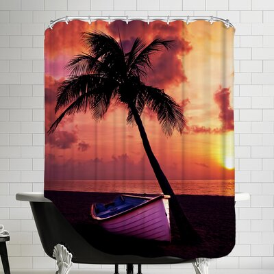 Beach Nature Shower Curtain