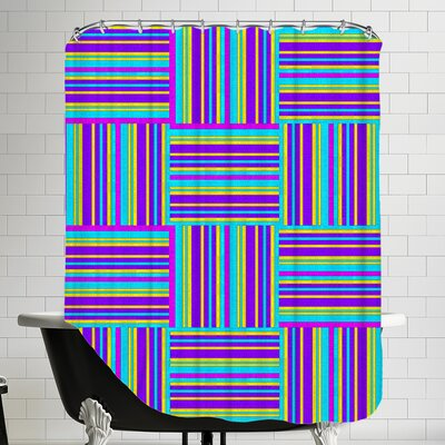 Art of Geometric Shower Curtain