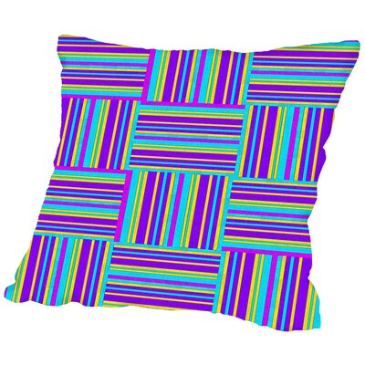 Art of Geometric Throw Pillow Size: 18 H x 18 W x 2 D
