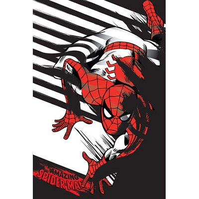 'The Amazing Spider-Man Minimalistic' Graphic Art on Canvas EASU6068 34115733