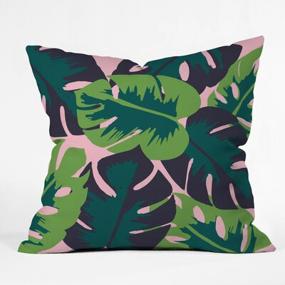 Patio Party Polyester Throw Pillow Size: 16 H x 16 W x 4 D
