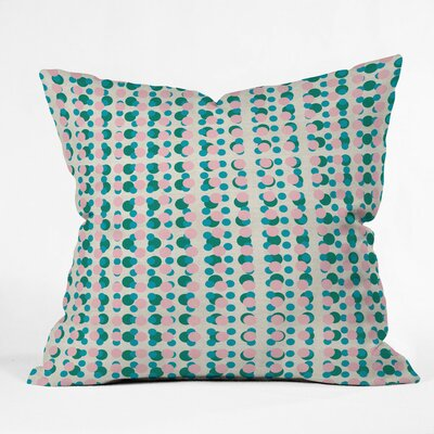 Digital Dot 70s Polyester Throw Pillow Size: 16 H x 16 W x 4 D