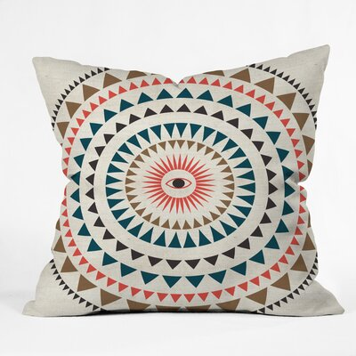 Rise With The Sun Polyester Throw Pillow Size: 26 H x 26 W x 7 D