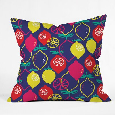 Citrus Bliss Polyester Throw Pillow Size: 16 H x 16 W x 4 D