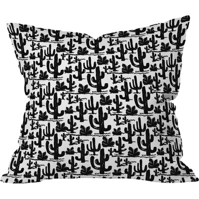 Old Time Western Polyester Throw Pillow Size: 18 H x 18 W x 5 D