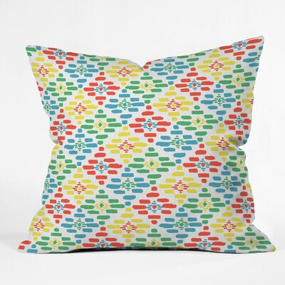 Picnic Basket Polyester Throw Pillow Size: 18 H x 18 W x 5 D