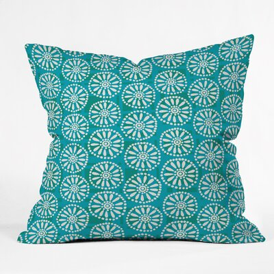 Daisy Plaid Polyester Throw Pillow Size: 26 H x 26 W x 7 D