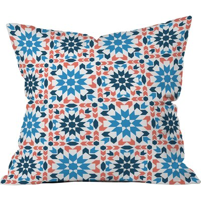 Sunbaked Arrow Tile Polyester Throw Pillow Size: 20 H x 20 W x 6 D
