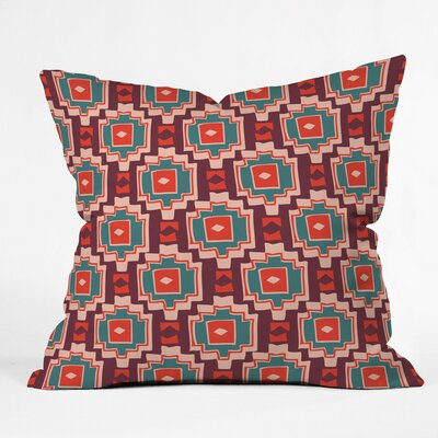 Sunbaked Southwest Polyester Throw Pillow Size: 16 H x 16 W x 4 D