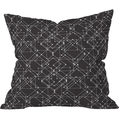 Feeling Digital Polyester Throw Pillow Size: 16 H x 16 W x 4 D