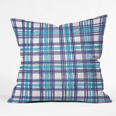 Vintage Picnic Polyester Throw Pillow Size: 16 H x 16 W x 4 D