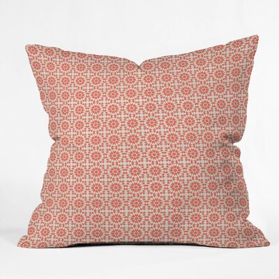 Sunbaked Mini Tile Polyester Throw Pillow Size: 18