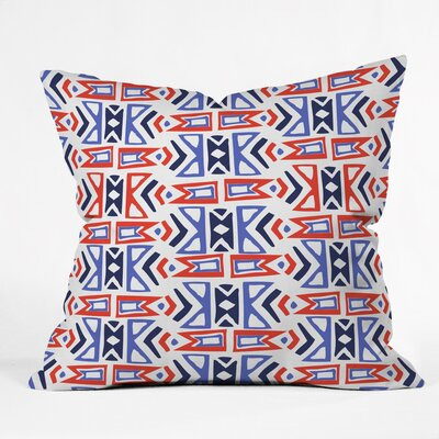 Firecracker Southwest Polyester Throw Pillow Size: 26 H x 26 W x 7 D