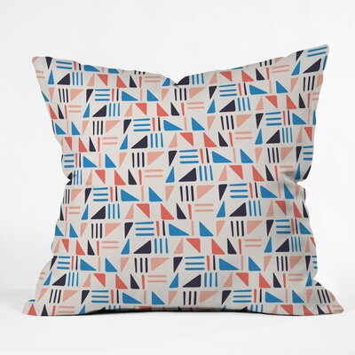 Weekend Angle Polyester Throw Pillow Size: 26 H x 26 W x 7 D
