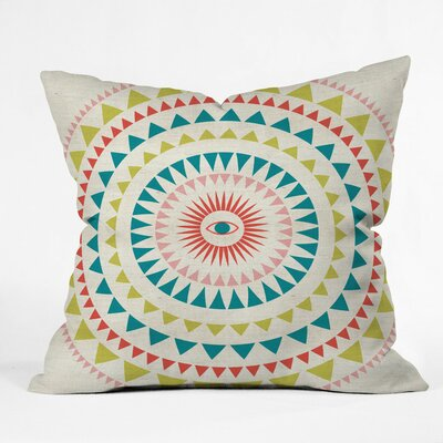 Zen Morning Polyester Throw Pillow Size: 16 H x 16 W x 4 D