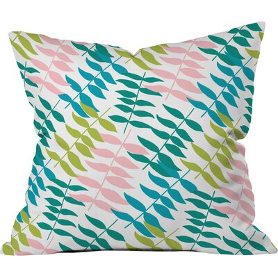 Poolside Pastels Polyester Throw Pillow Size: 18 H x 18 W x 5 D