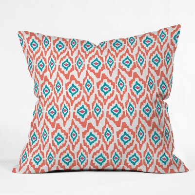 Keen Polyester Throw Pillow Size: 20 H x 20 W x 6 D
