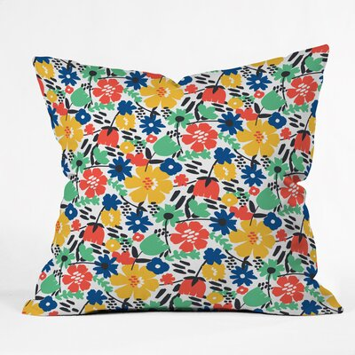 Forest Floor Polyester Throw Pillow Size: 20 H x 20 W x 6 D