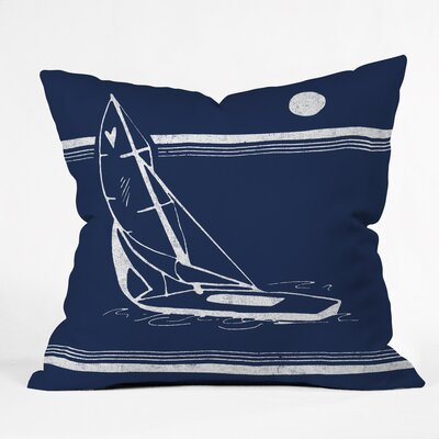 Midnight Ride Outdoor Throw Pillow Size: 16 H x 16 W x 4 D