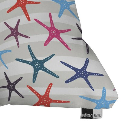 Star Fish Outdoor Throw Pillow Size: 16 H x 16 W x 4 D