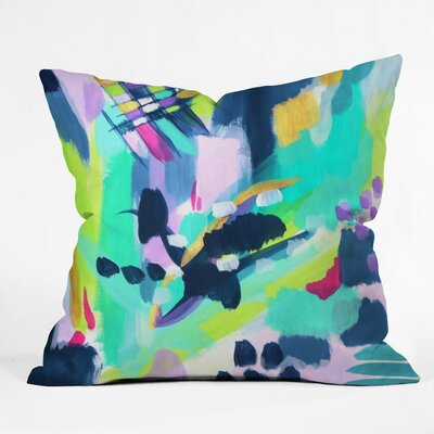 Puddle Jump Outdoor Throw Pillow Size: 16 H x 16 W x 4 D