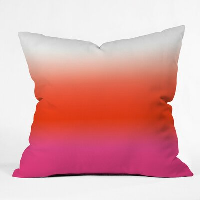 Under The Sun Ombre Outdoor Throw Pillow Size: 18 H x 18 W x 5 D