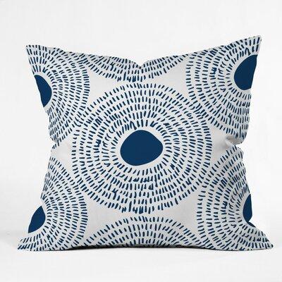 Camilla Foss Circles Ii Outdoor Throw Pillow Size: 16 H x 16 W x 4 D
