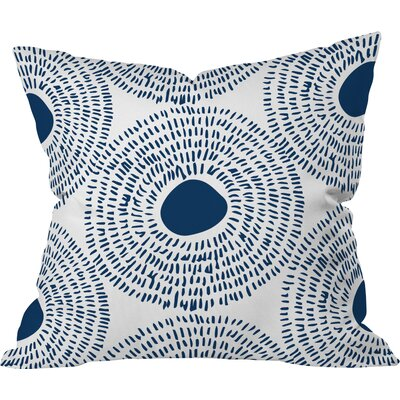 Keeley Circles Ii Outdoor Throw Pillow Size: 18 H x 18 W x 5 D
