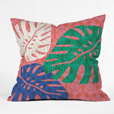 Tropical Heatwave Outdoor Throw Pillow Size: 16 H x 16 W x 4 D