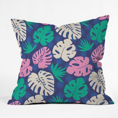 Tropical Nights Outdoor Throw Pillow Size: 18 H x 18 W x 5 D