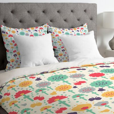 Mochi Flowers Duvet Cover