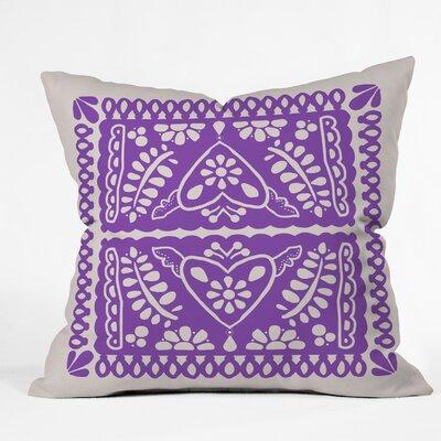 Natalie Baca Throw Pillow Size: 16 H x 16 W x 4 D