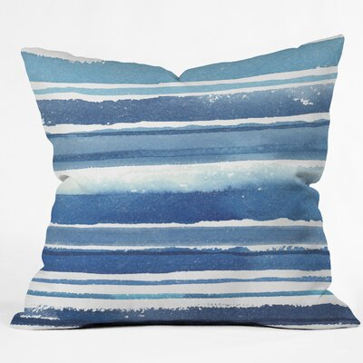 Kerrie Satava Indoor/Outdoor Throw Pillow Size: 18 H x 18 W x 5 D