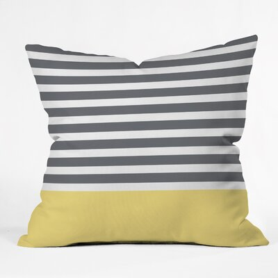 Hello Twiggs Throw Pillow Size: 16 H x 16 W x 4 D
