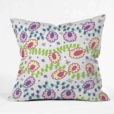 Gabriela Larios Throw Pillow Size: 16 H x 16 W x 4 D