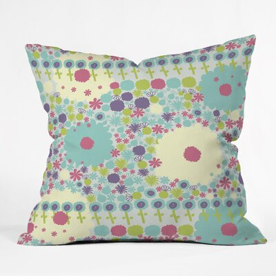Gabriela Larios Throw Pillow Size: 18 H x 18 W x 5 D