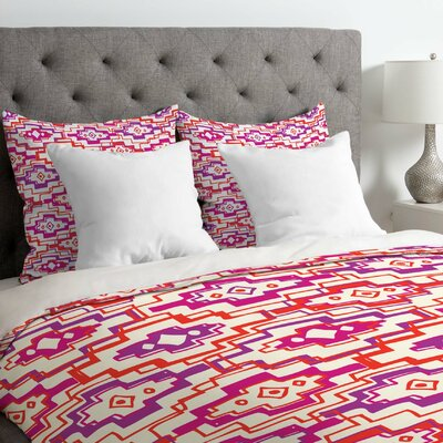 Zoe Wodarz Hot Southwest Duvet Cover Size: King