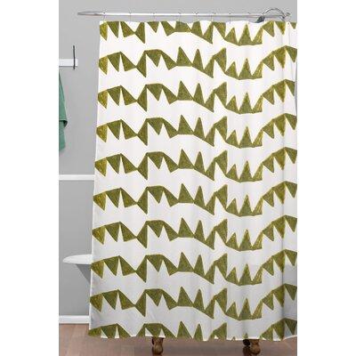 Georgiana Paraschiv Triangle Shower Curtain