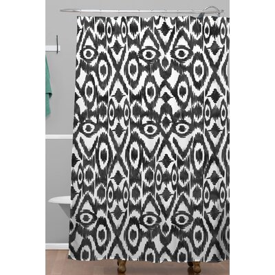 Zoe Wodarz Ikat Jungle Shower Curtain